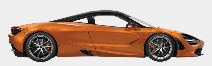 formula one car clipart, Cartoons - Mclaren 720s - Mclaren 720 S Side
