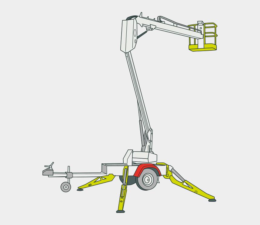 Cherry Picker Svg Bucket Truck Svg Aerial Work Platform Svg | Etsy
