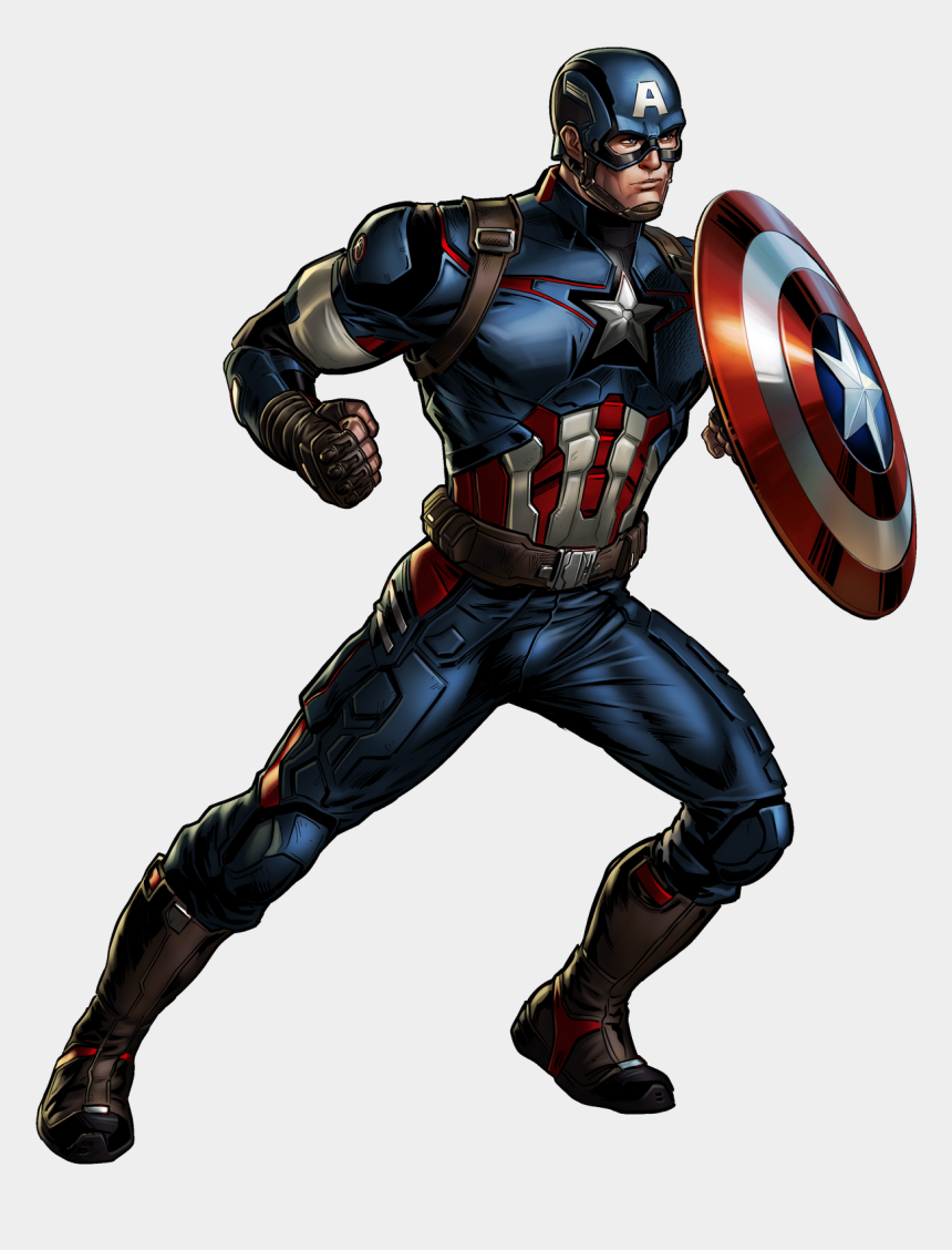 captain america clipart free, Cartoons - Marvel Avengerscaptain America - Marvel Avengers Alliance Captain America Png