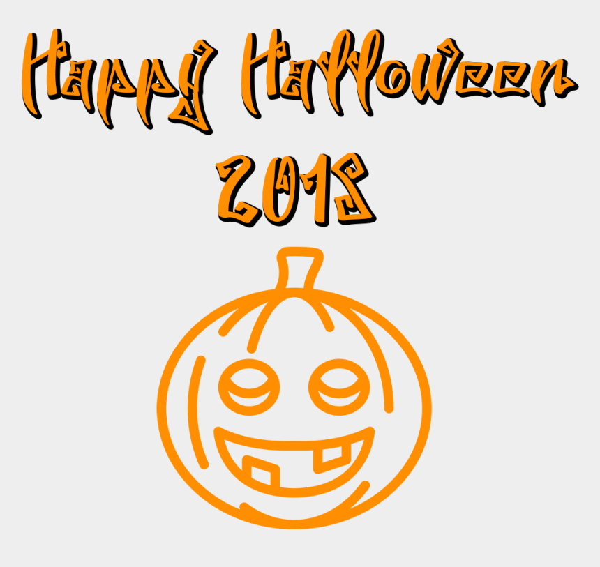 scary halloween pumpkin clipart, Cartoons - Download Happy Halloween 2018 Scary Font Smiling Pumpkin - Pumpkin Happy Halloween 2018