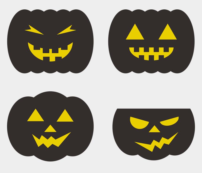 scary halloween pumpkin clipart, Cartoons - Halloween Pumpkin Harvest October Scary Facial - Pumpkin
