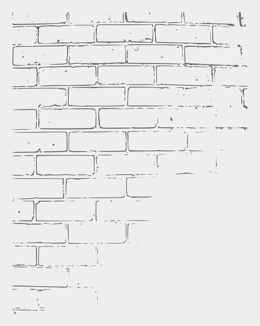building bricks clipart, Cartoons - Clipart - Brick Wall Drawing