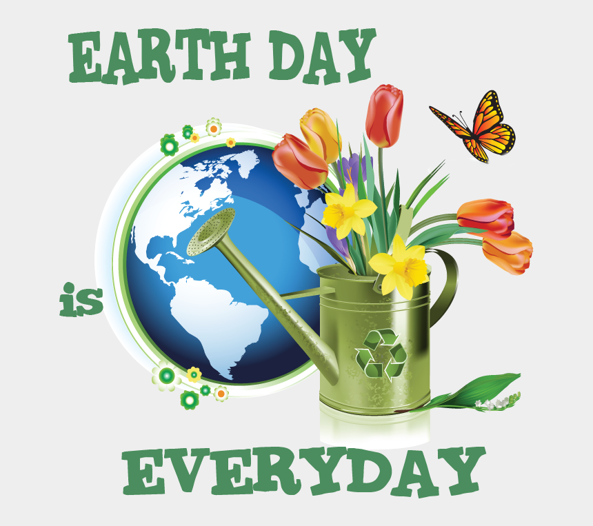 land pollution clipart, Cartoons - Actually, It Is - Earth Day Beautiful Slogan