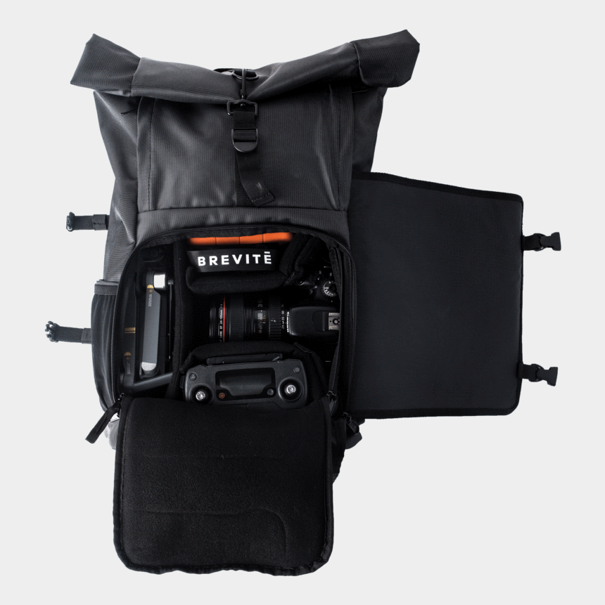 camera with strap clipart, Cartoons - Dslr Clipart Camera Bag - Roll Top Camera Bag