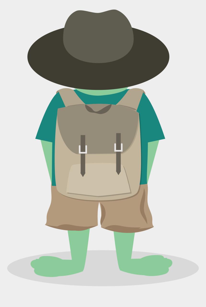 tourist family clipart, Cartoons - Hey, Hoppy Traveler - Illustration