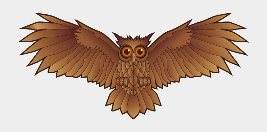wings clipart png, Cartoons - Wing Clipart Owl - Owl Wings Clip Art