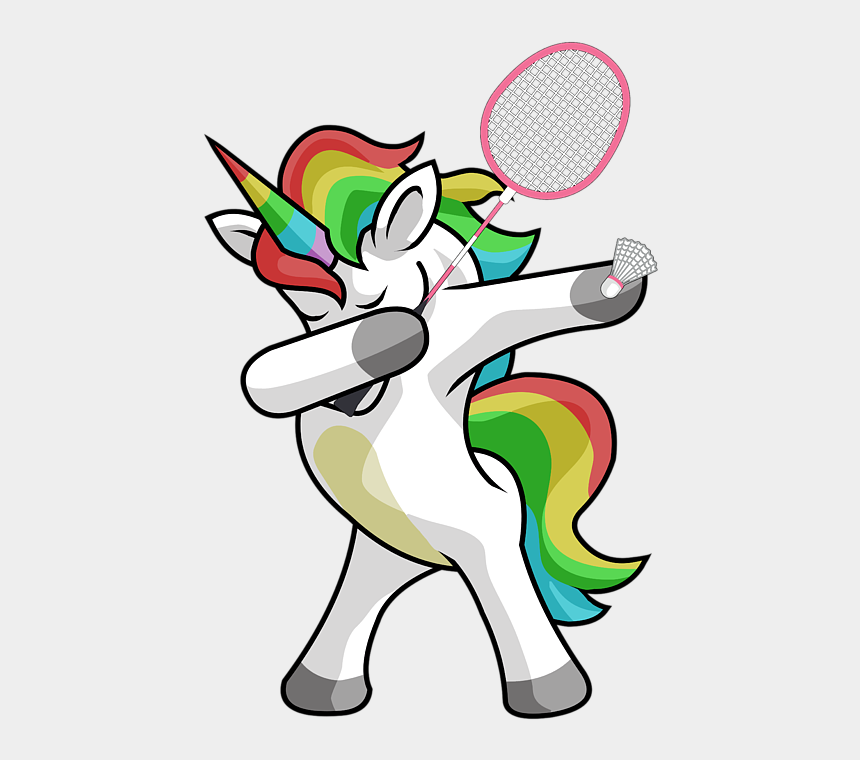 bleed clipart, Cartoons - Bleed Area May Not Be Visible - Dab Unicorn Softball