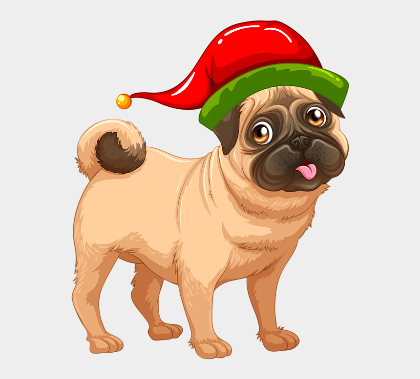 bleed clipart, Cartoons - Bleed Area May Not Be Visible - Pug Dog Illustration Png
