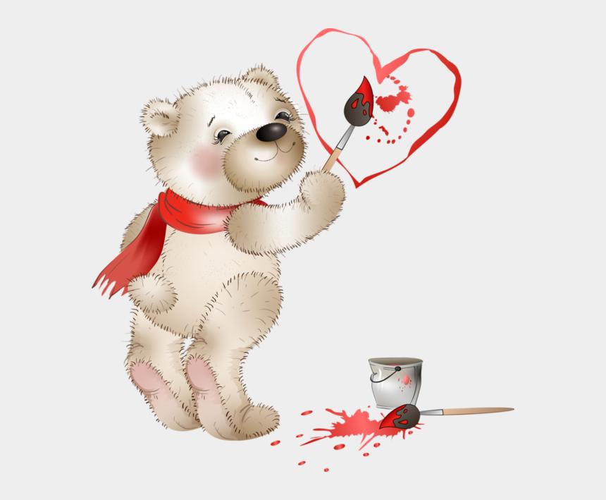 valentines day teddy bear clipart, Cartoons - *✿*fauna Enamorada*✿* Bear Clipart, Cute Clipart, Valentines - Buongiorno Buon San Valentino