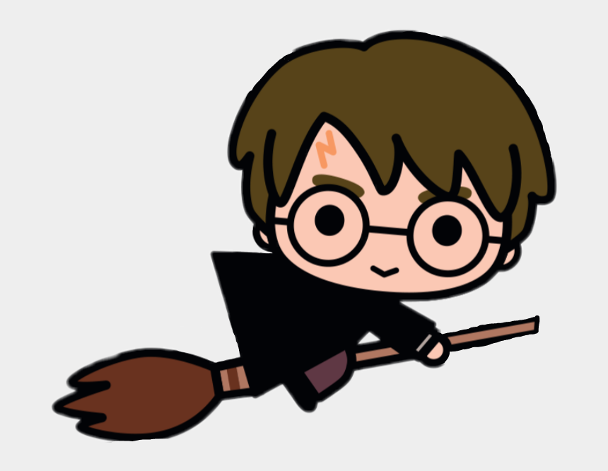 skittish clipart, Cartoons - Adesivo Sticker - Kawaii Harry Potter Drawing