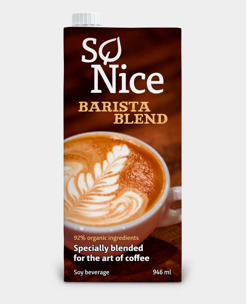 soy milk clipart, Cartoons - Unique Formula, Especially Formulated For Hot Coffee - Barista