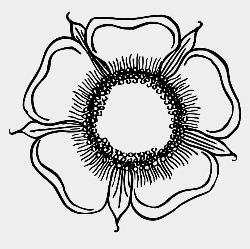 flower circle clipart, Cartoons - Flower Drawing Line Art Eye Circle Free Mercial Clipart - Line Art