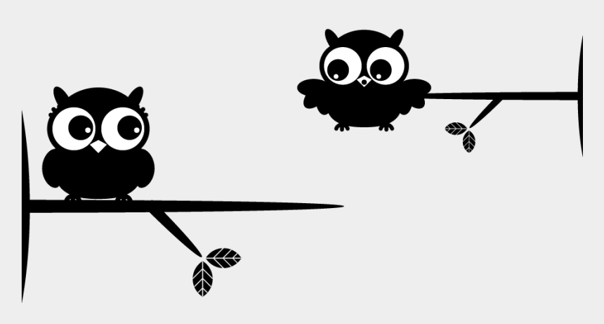 ocd clipart, Cartoons - Buscar Con Google Ocd, Drawing Ideas, Make Me Smile, - Black And White 2 Owls On Branch Clipart