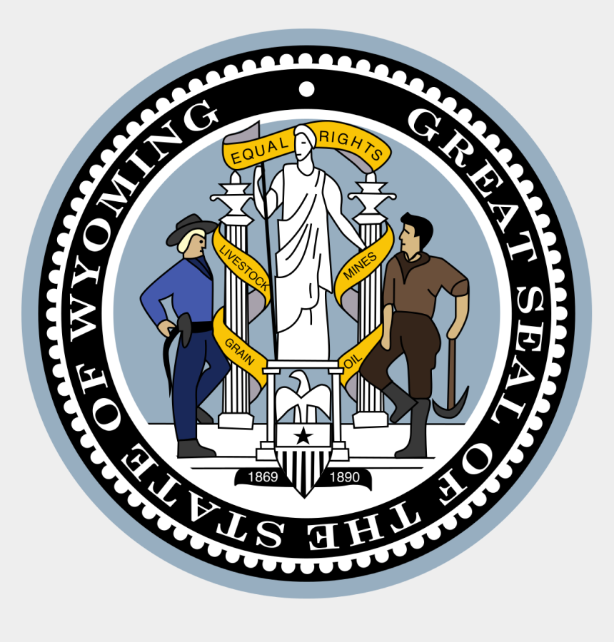 equal rights clipart, Cartoons - 240 × 240 Pixels - State Seal Of Wyoming