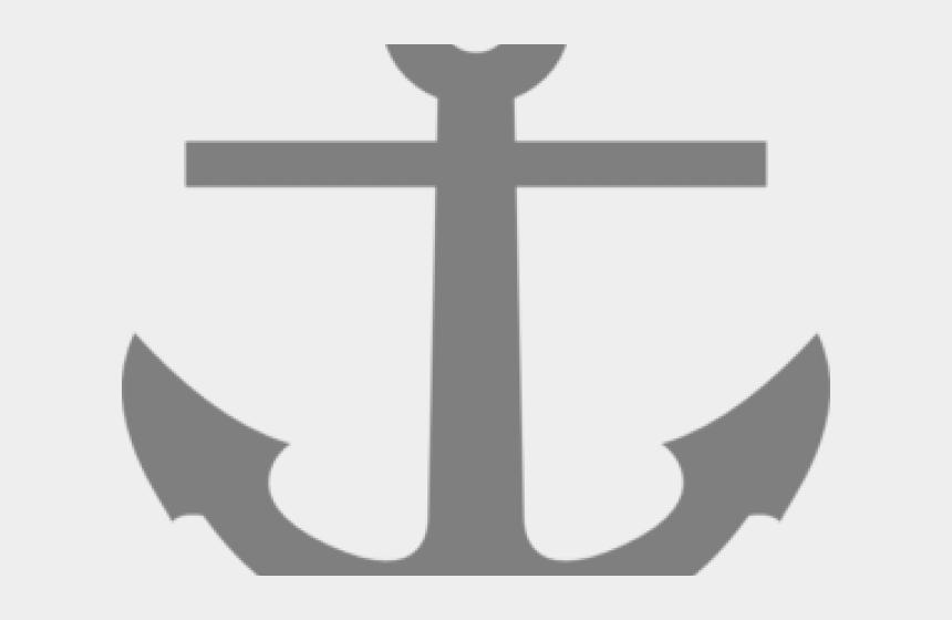 distressed cross clipart, Cartoons - Anchor Clipart Gray - Ship Anchor