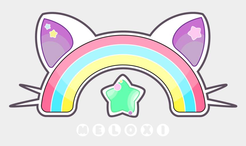 kawaii cat clipart, Cartoons - Nyan Cat Clipart Rainbow Cat - Logo Pusheen