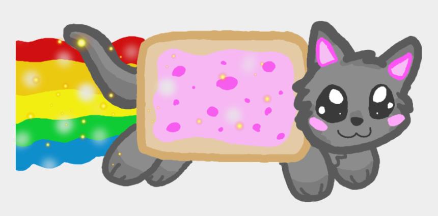 kawaii cat clipart, Cartoons - Nyan Kawaii Png By Vaniiina - Nyan Cat Kawaii Png