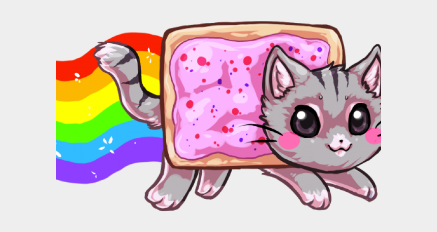 kawaii cat clipart, Cartoons - Kawaii Nyan Cat Anime