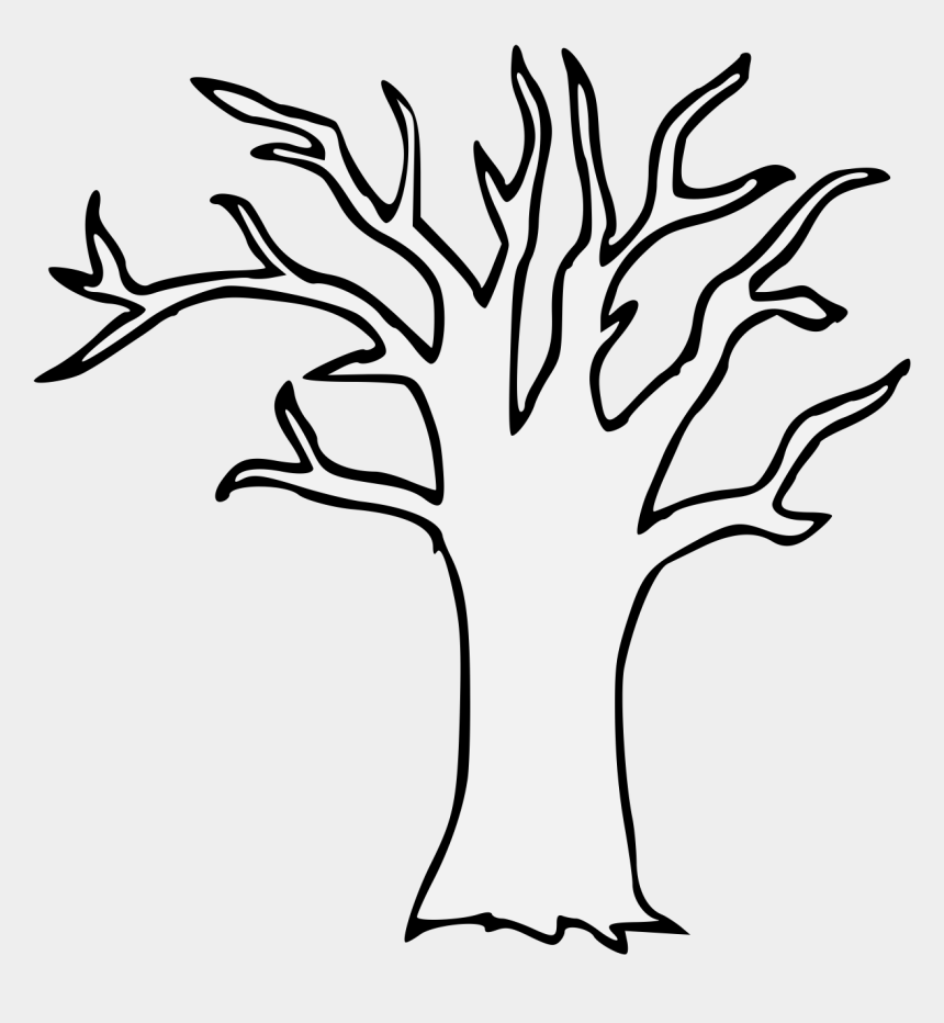 brown tree without leaves clipart, Cartoons - Pdf - Line Art