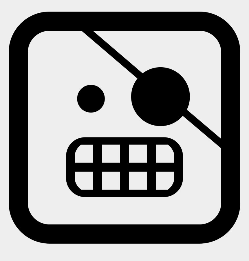 eye outline clipart, Cartoons - Pirate Emoticon Face With One Covered Eye In Square - Square Pirate