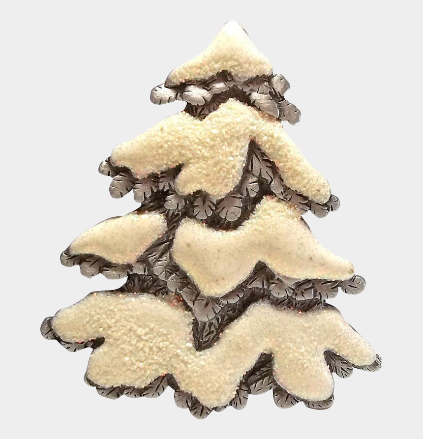 snowy christmas tree clipart, Cartoons - Jj Snowy Tree Christmas Holiday Jewelry - Christmas Tree