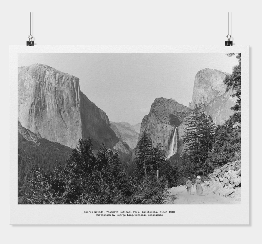 yosemite national park clipart, Cartoons - National Geographic Png - Yosemite National Park, Yosemite Valley