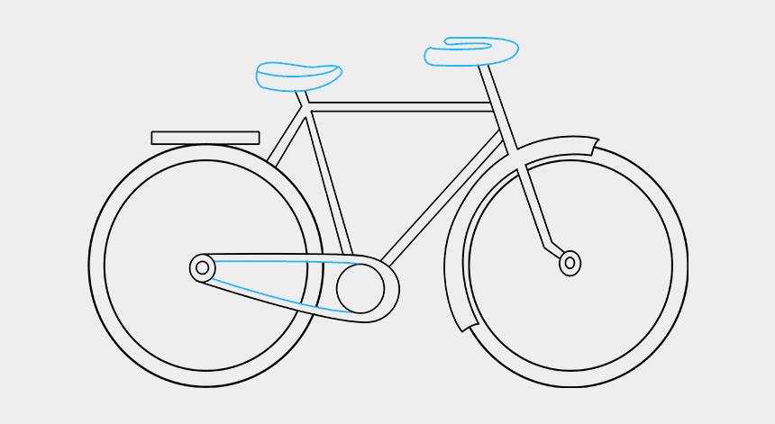 bike with training wheels clipart, Cartoons - Biking Drawing Basic - Cycling