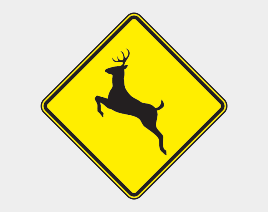 look both ways before crossing the street clipart, Cartoons - Creating A Deer Crossing Sign Controversy - Deer Sign