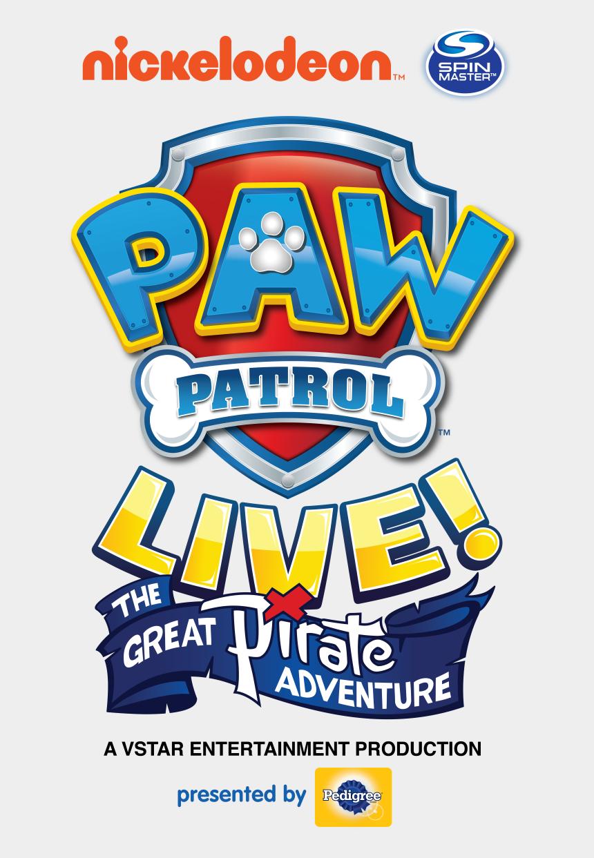 rocky paw patrol clipart, Cartoons - Paw Patrol Live The Great Pirate Adventure Logo