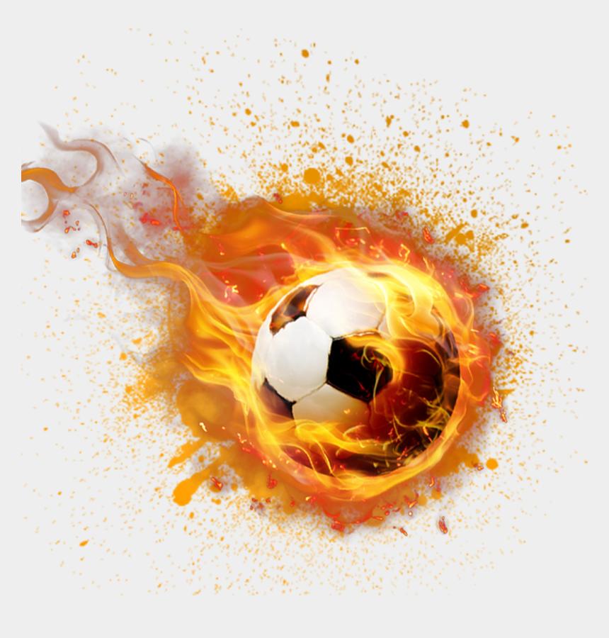 ball of fire clipart, Cartoons - #ftestickers #ball #football #fire #freetoedit - Fire Soccer Ball Transparent