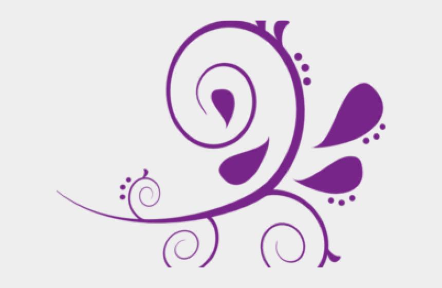 southern magnolia clipart, Cartoons - Lavender Clipart Swirl - Mint Green Design Border