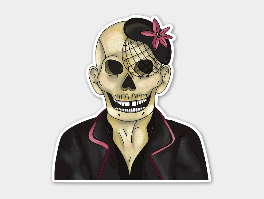 sorry for your loss clipart, Cartoons - Sorry For Your Loss - Skull