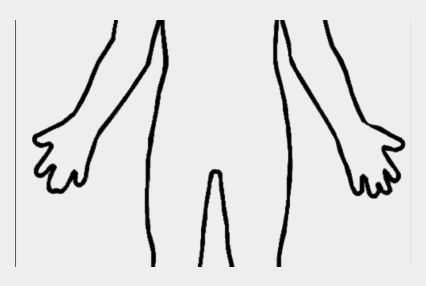 outline of body clipart, Cartoons - Human Outline Png - Human Body Outline Png