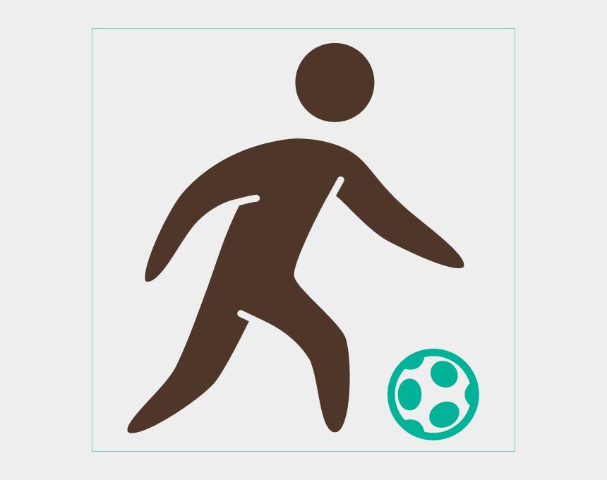 soccer ball being kicked clipart, Cartoons - Clip Art