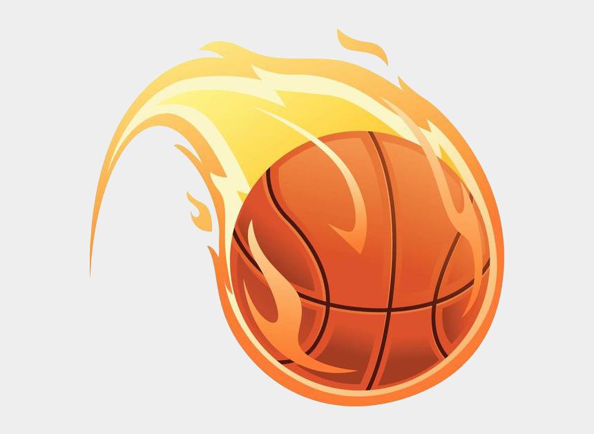 soccer ball on fire clipart, Cartoons - Clip Art Basketball Fire - Basketball On Fire Vector