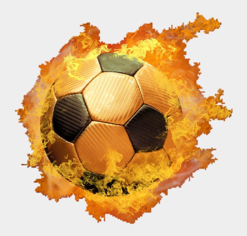 soccer ball on fire clipart, Cartoons - #hotball #fire #fireball #ball #circle #neon #light - Transparent Fireball Fire