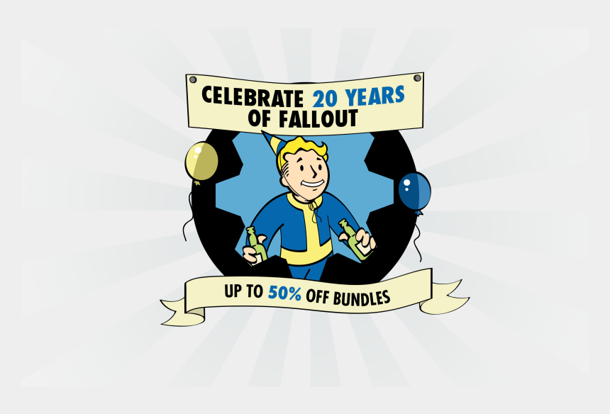 fallout shelter clipart, Cartoons - Celebrate 20 Years Of Fallout Jump Into Fallout Shelter - Fallout 20 Years