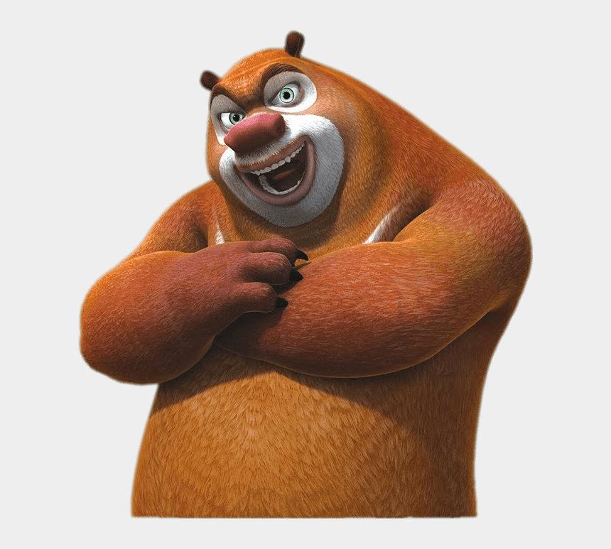 strong arms clipart, Cartoons - Briar Bear Arms Crossed - Boonie Bear 3d Cartoon