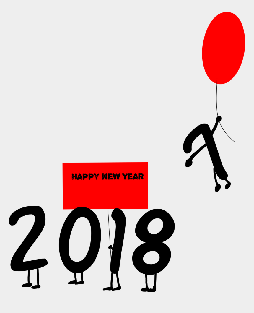 new year clock clipart, Cartoons - Happy New Year Numbers Years - New Year Wishes 2019
