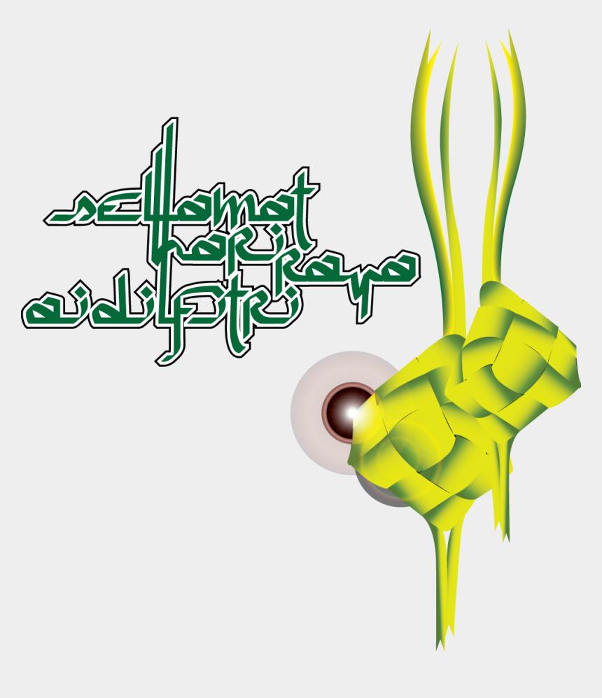 man knocking on door clipart, Cartoons - To All My Muslim Friends, I Would Like To Say - Selamat Hari Raya Png Ketupat
