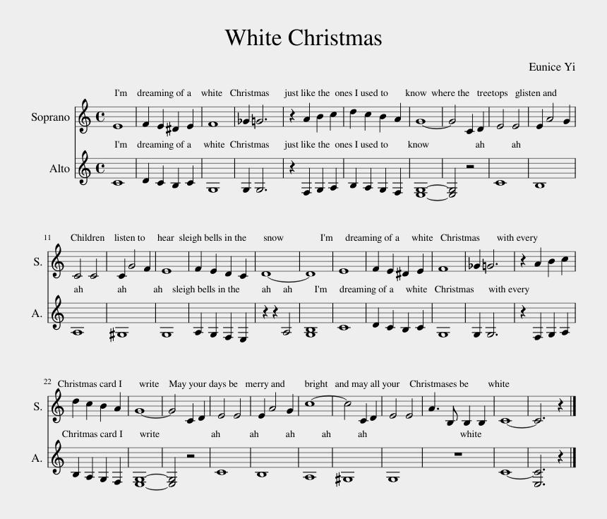 White Christmas Pie.White Christmas Sheet Music Composed By Eunice Yi Pie Jesu