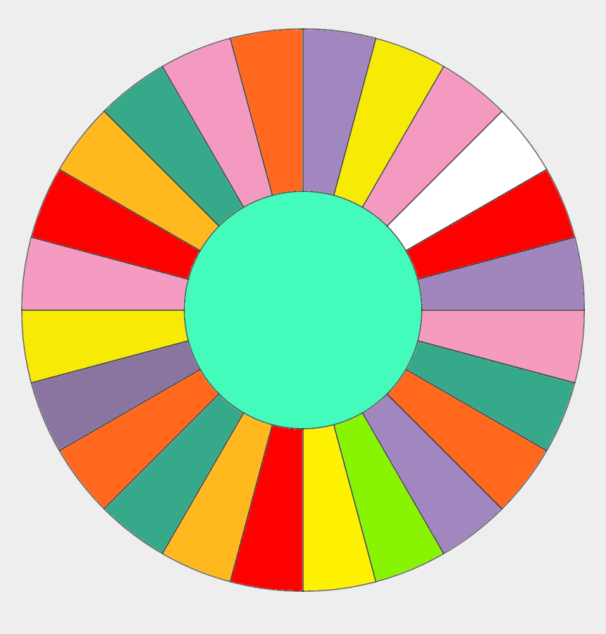 twister game clipart, Cartoons - Blank Wheel Of Fortune Wheel