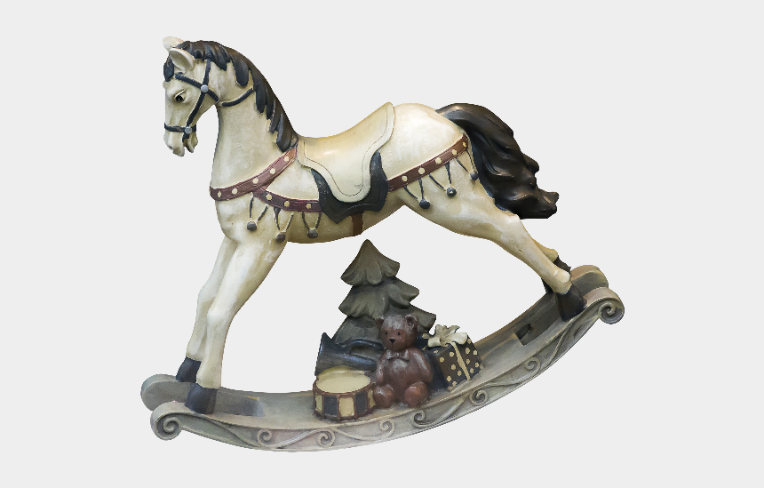 man riding horse clipart, Cartoons - Rocking Horse Toy Png - Mane