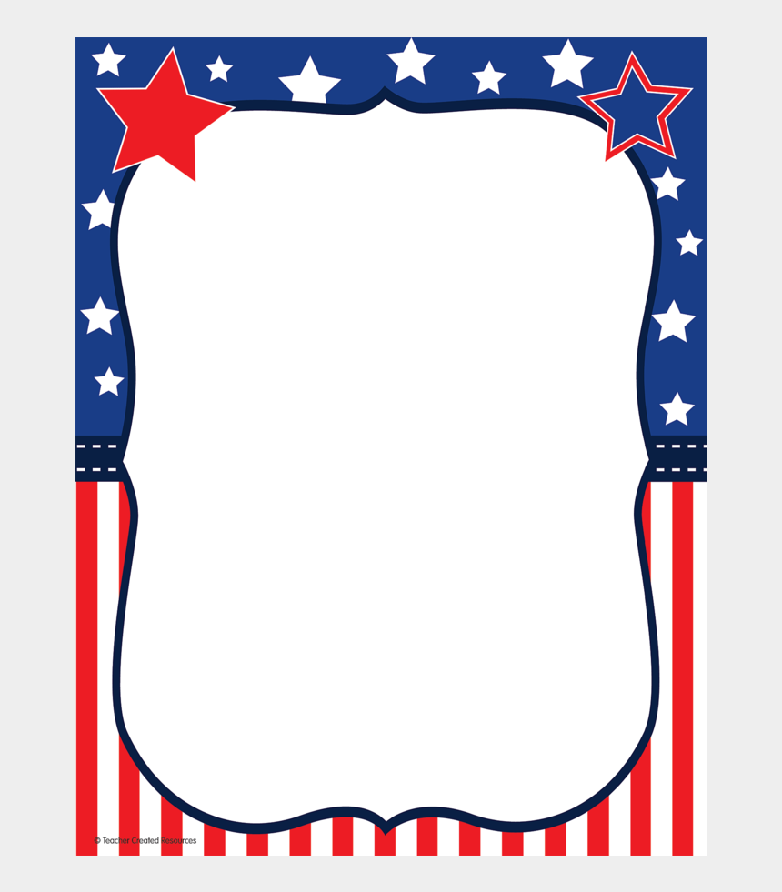 vintage americana clipart, Cartoons - Free Patriotic Borders For Papers - Social Studies Page Border