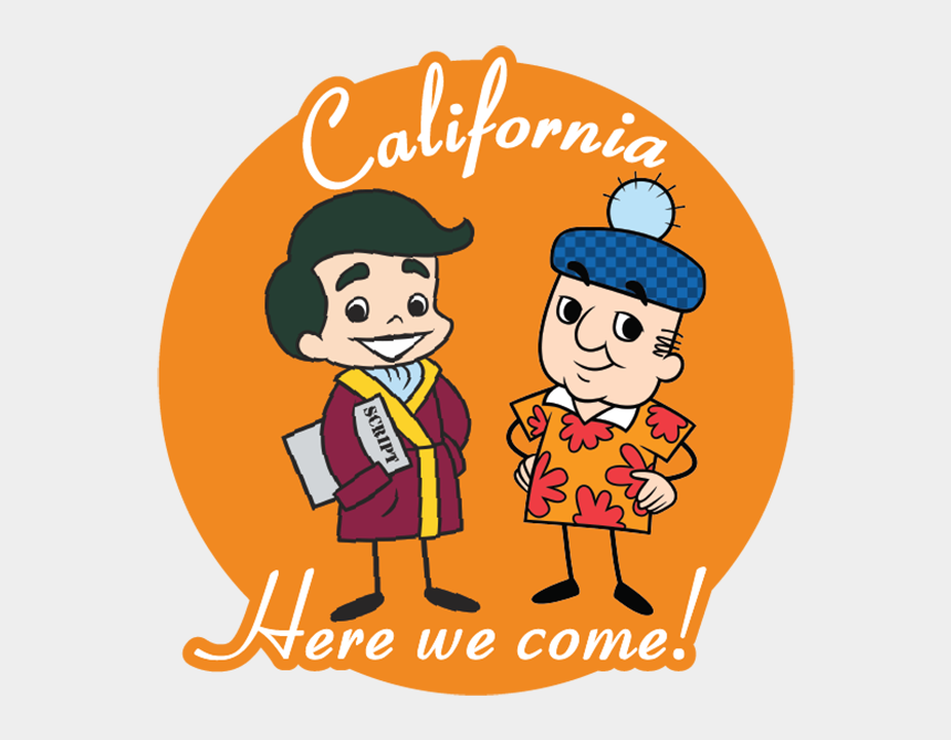 i love lucy clipart, Cartoons - California Here We Come - Cartoon