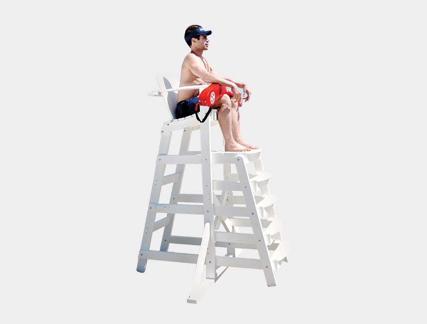 lifeguard tower clipart, Cartoons - Lifeguard Chair Png - Lifeguard On A Chair Png