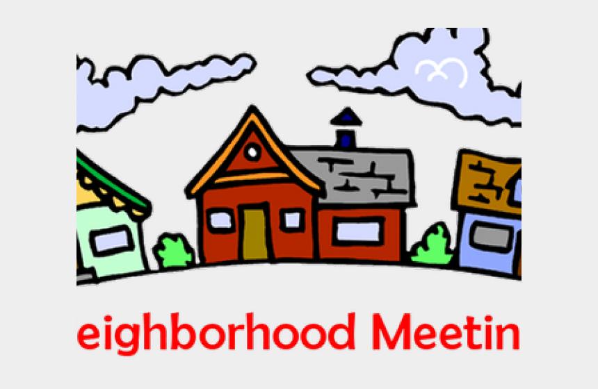 neighborhood clipart, Cartoons - Meeting Clipart Neighborhood Meeting - Hoa Meeting