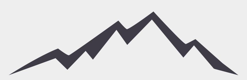 mountains clip art, Cartoons - Euclidean Vector Silhouette Icon Mountain Hq Image - Free Mountain Logo Png