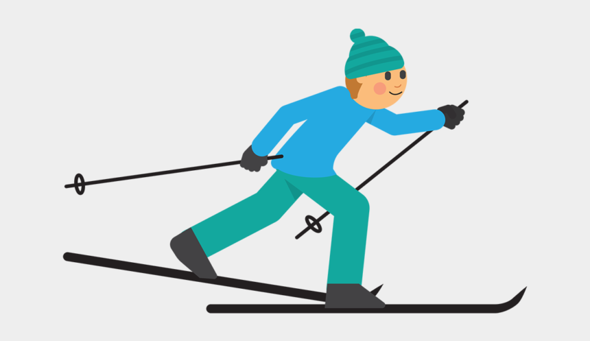 cross country clipart, Cartoons - Cross-country Skiing - Cross Country Skiing Clipart