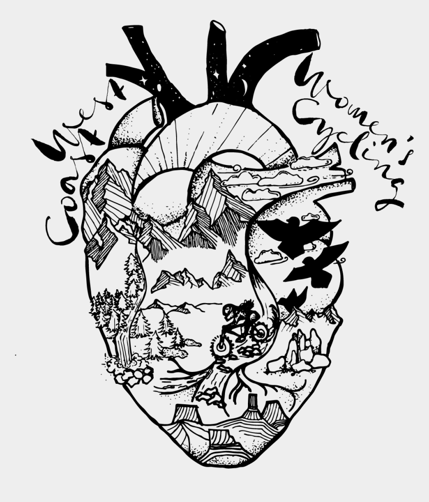mountains clip art, Cartoons - My Heart Is In The Mountains Clipart , Png Download - Illustration